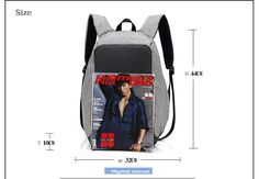 Senkey style Fashion Backpacks Anti-theft Multifunction USB Charging Men Rucksack 14 inch Laptop Computer Backpack Male Mochila   Read more at Bargain Paradise : http://www.nboempire.com/products/senkey-style-fashion-backpacks-anti-theft-multifunction-usb-charging-men-rucksack-14-inch-laptop-computer-backpack-male-mochila/                               Notes 1.1 Inch = 2.54CM; 1 CM = 0.39 Inch. Due to manual measurement, please allow 1-3 cm error. 2.Due to different monit