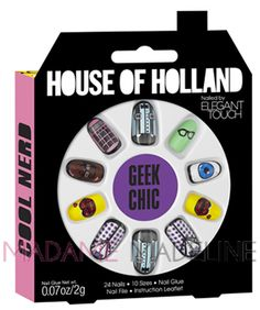 House Of Holland Nails By Elegant Touch - GEEK CHIC #hoh #madamemadeline #nails