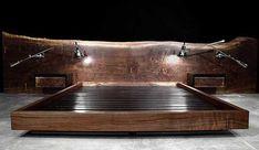 8 Shops to Buy Rustic Reclaimed Wood Furniture From Wood Bedroom, Modern Bedroom, Bedroom Decor, Bedroom Ideas, Reclaimed Wood Headboard, Reclaimed Wood Furniture, Hudson Furniture, Bed Furniture, Furniture Ideas