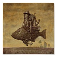 Steam Fish Poster