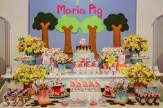 Fadas Madrinhas Decorações (Peppa Pig)