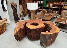 Revelando a beleza natural da madeira