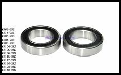 5.22$  Buy now - http://alirly.shopchina.info/go.php?t=32798901420 - 10pcs/Lot MR85-2RS MR85 RS 5x8x2.5mm The Rubber Sealing Cover Thin Wall Deep Groove Ball Bearing Miniature Bearing   #magazineonlinebeautiful