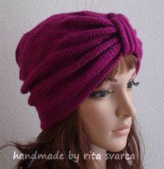 Hey, I found this really awesome Etsy listing at https://www.etsy.com/listing/175368104/knit-turban-hat-handmade-hat