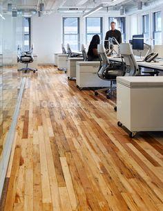 Antique Factory Plank Dirty Top | Reclaimed Factory Flooring | Olde Wood. Narrow plank hardwood