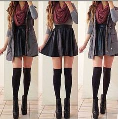 I love this and I would wear it but with leggings :)