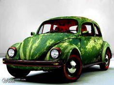 Watermelon VW bug!