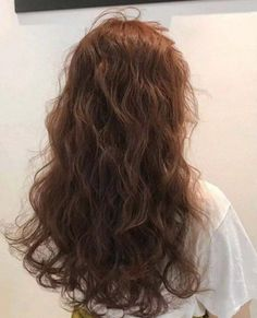 6 Types Of Elegant Perms Suitable For All Working Ladies | GirlStyle Singapore Asian Hair Perm, Wavy Hair Perm, Curly Asian Hair, Perms For Long Hair, Perm Curls, Hair Perms, Loose Wave Perm, Loose Spiral Perm, Beach Wave Perm