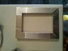 DIY aluminum tape frame