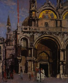 Walter Sickert, Corner of St. Mark's, Venice