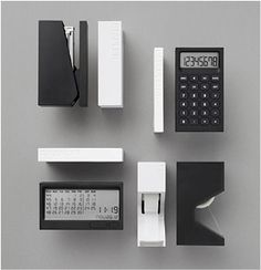 In love with the simplicity of the design for all of these office supplies and other items. Now WHY can't there be a store in the US? #Lexon