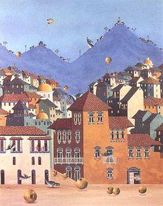 Gonzalo Endara Crow, 'Por todas partes', 1993. Ecuador / arte, pintura, latin art