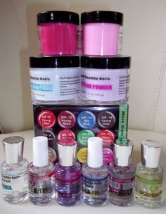 There are more than 160 different colors of Dip-Gel powder for you to choose from. Each Jar of Dip-Gel Colored Powder is one ounce. After completing your purchase of one or more of the colors of yo… Dip Gel Nails, Gel Powder Nails, Acrylic Nail Powder, Sns Nails, Acrylic Nails, Nail Polish Colors, Gel Polish, Rock Star Nails, Color Powder