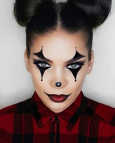 This post is no joke. _ _ _ #Halloween #halloweenmakeup #clownmakeup #clowncostume #halloweenideas #31daysofhalloween #scary #grunge #rock…
