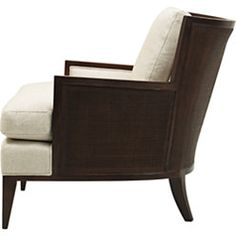Baker - California Cane Lounge Chair