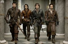 THE MUSKETEERS. New fave BBC show. Shame about Capaldi. Almost takes some of the excitement from Doctor Who.