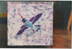 Lámpara de colibrí