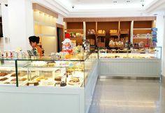 Mostradores tiendas, vitrinas y mostradores, vitrinas pasteleria, Rochinadecor