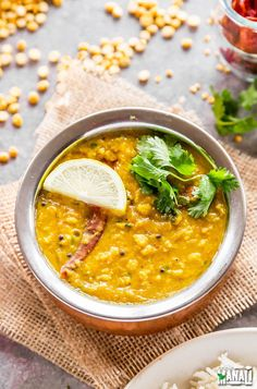 Instant Pot Chana Dal - easy, comforting and delicious chana dal made in the instant pot. This recipe is vegan and gluten-free.