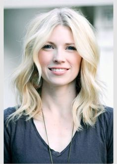 """Soft blonde with those """"beach waves"""" is an easy yet beautiful hair trend. Mirror Mirror Salon and Spa Kelowna BC2016 Hair Trends from Mirror Mirror Salon & Spa in Kelowna, BC. Specializing in award-winning haircuts, colors & wedding hair. #styleoftheday #hair #hairdo #hairtrends #style #fashion #trending #beauty #kelownahair #kelownasalon #okanaganwedding #kevinmurphy #loreal #moroccanoil #hair #haircolour #hairtrends"""