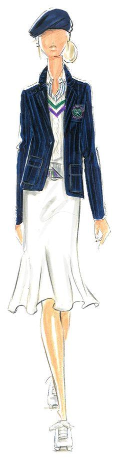 The New Wimbledon Uniforms Designed by Ralph Lauren