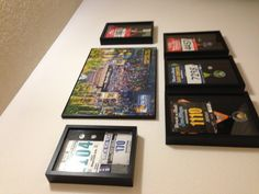 Another idea for all of hubby's medals and bibs. Marathon achievement wall!