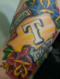 Image result for texas rangers tattoos