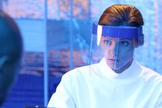 Jordan Hayes as Dr. Sarah Jordan in HELIX ep. 1.02 Vector.