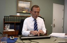"Prime Minister Tony Abbott has switched off the government at the wall, waited ten seconds, and then switched it on again, in a last-ditch attempt to try to get it working. ""We tried everything els..."