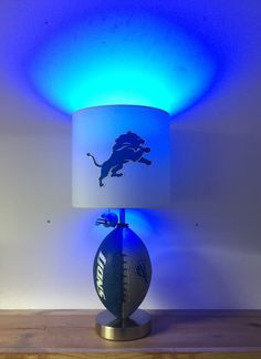 Arizona cardinals lamp nfl football man cave decor sports lamp detroit lions football lamp nfl man cave sports lamp kids night light mozeypictures Images