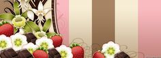 Flowers Chocolate And Strawberries Facebook Covers