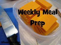 weekly meal prep checklist to make packing lunches, serving snacks, making breakfast and dinner easier.