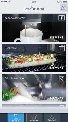 Siemens home connect apparaten. Met wifi al je keukenapparaten bedienen.