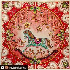Bom dia amores!! Um colorido muito fofo para inspirar vocês nessa manhã ❤️✨ By @royalcolouring ---------------------------------  Quer ter o seu desenho postado no nosso ig? Marque a tag #selvamagicaoficial --------------------------------- #oceanoperdido #jardimsecreto #selvamagicaoficial #florestaencantada #lostocean #secretgarden #enchantedforest #magicaljungle #ascoresdonatal #johannaschristmas #colorindo #coloring #johannabasford #editorasextante