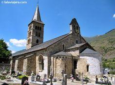 Románico del Valle de Arán. Foto de la Iglesia de Santa Maria de Arties