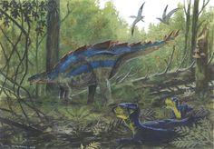Archaeoceratops oshimai by Tuomas Koivurinne