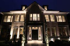 Entrance lighting by John Cullen Lighting