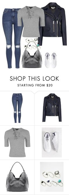 """""""Untitled #3906"""" by keliseblog ❤ liked on Polyvore featuring Topshop, Whistles, adidas, Linea Pelle and ALDO"""