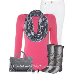 """""""Leopard and Pink"""" by cindycook10 on Polyvore"""