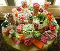 bar à bonbon pour un mariage | Wedding Montreal