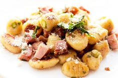 Gnocchi with browned butter sage