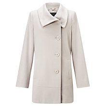 Buy Gerry Weber Side Button Coat, Beige Online at johnlewis.com