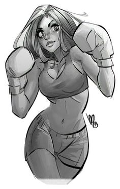 Girl fighting.