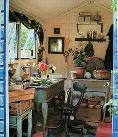 Garden Sheds Inside inside of shed - could you live in a garden shed? | garden sheds