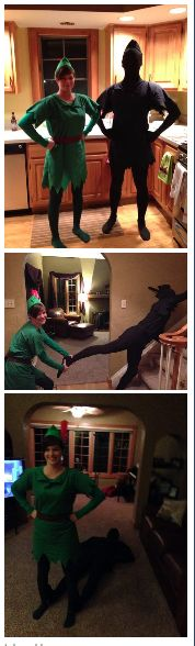 Couples Costume —Peter Pan & Shadow