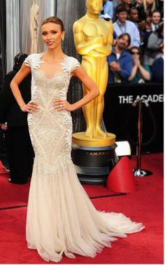 Academy Awards 2012 Best Dressed: Giuliana Rancic in Tony Ward