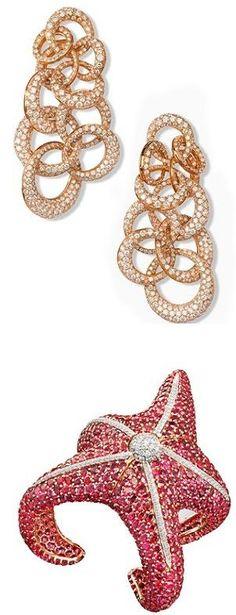 De Grisogono the bracelet 'Starfish' and the rose gold 'Tubetto' ring♥✤ | KeepSmiling | BeStayBeautiful