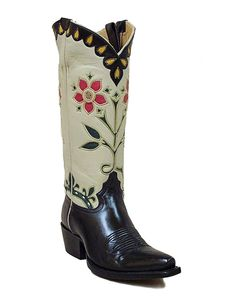 Rose & Crown - Handmade Cowboy Boots from Liberty Boot Co Cowgirl Boots, Western Boots, Liberty Boots, Heeled Boots, Shoe Boots, Boot Scootin Boogie, Rose Crown, Vintage Cowgirl, Custom Boots