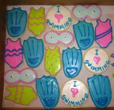 Swimming Cookies