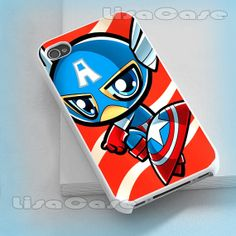 Captain America kid iPhone case iPhone 4/4S case by LissaCase, $13.99